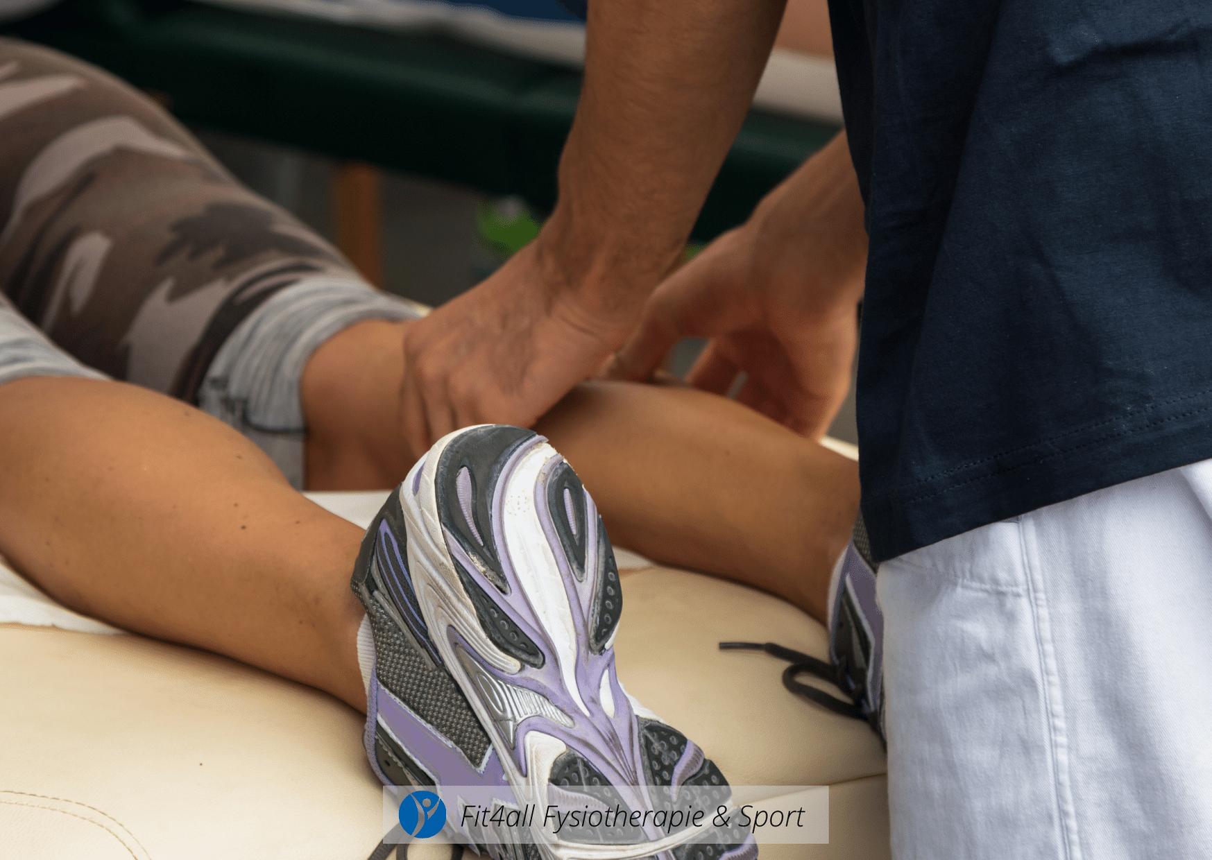 Behandeling Scheenbeenvliesontsteking